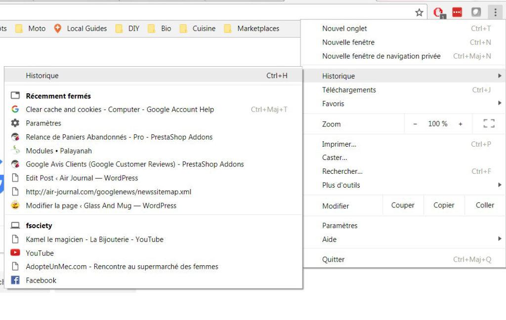 essayez de vider le cache de votre navigateur Vider le cache de mon navigateur / effacer les cookies qu'est ce que le cache du navigateur quand votre navigateur charge une page web, il enregistre les images et la mise en page sur le disque dur de votre ordinateur.